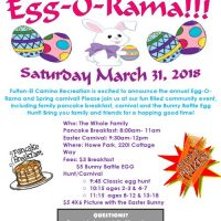 Egg-O-Rama and Pancake Breakfast