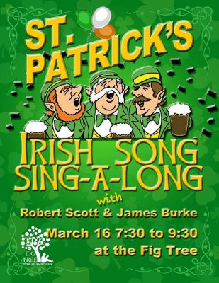 Irish Sing-A-Long with Robert Scott and James Burke