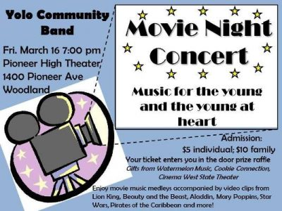 Yolo Community Band: Movie Night Concert