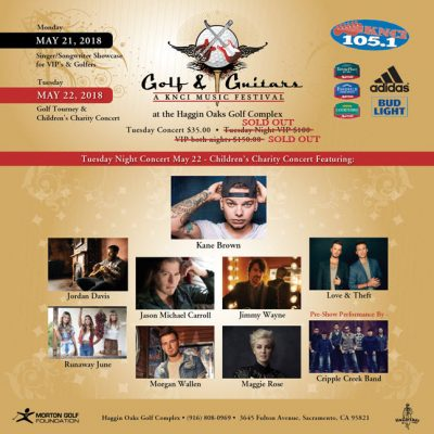 Golf and Guitars Charity Concert (Sold Out)