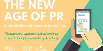 The New Age of PR: A Joint Luncheon