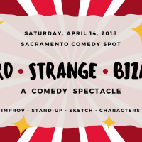 Weird Strange Bizarre: A Comedy Spectacle