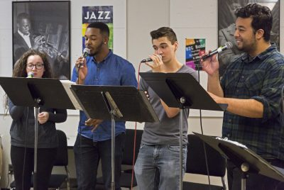 Sacramento State's Vocal Jazz Ensembles