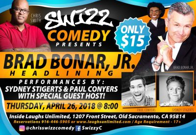Swizz Comedy presents Brad Bonar Jr.