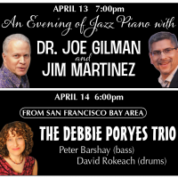 An Evening of Jazz Piano with Dr. Joe Gilman and Jim Martinez