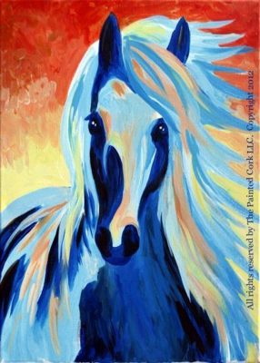 Sapphire Stallion Paint and Sip