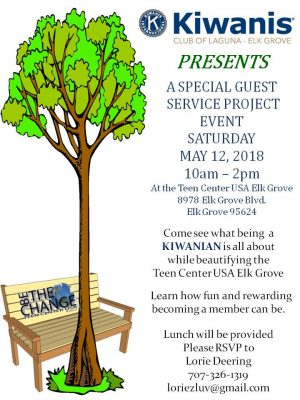 Kiwanis Special Guest Service Project