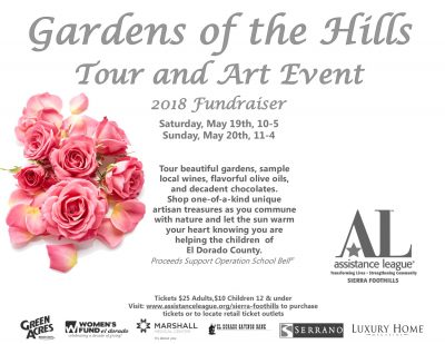Gardens of the Hills Tour and Art Event