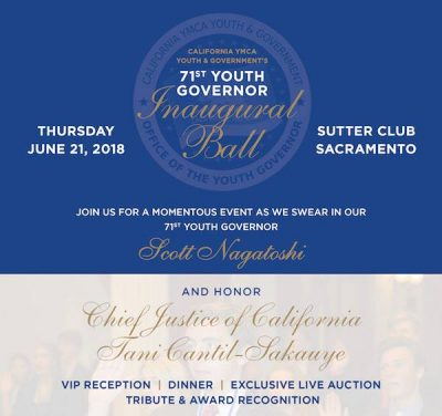 Youth Governor Ball and Tribute