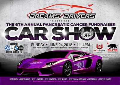 Dreams and Drivers Pancreatic Cancer Fundraising Car Show