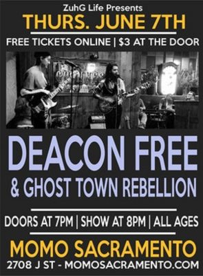 Discovery Thursdays: Deacon Free, The Ghost Town Rebellion