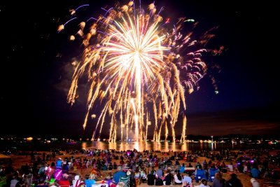 Kings Beach Fireworks and Party