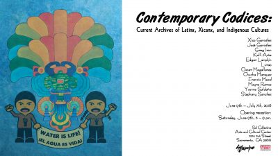 Contemporary Codices: Current Archives of Latinx, Xicanx, and Indigenous Cultures