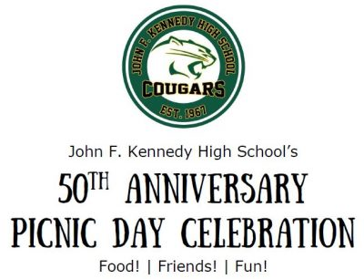 John F. Kennedy High School's 50th Anniversary Picnic Day Celebration