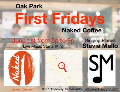 First Friday with Stevie Mello