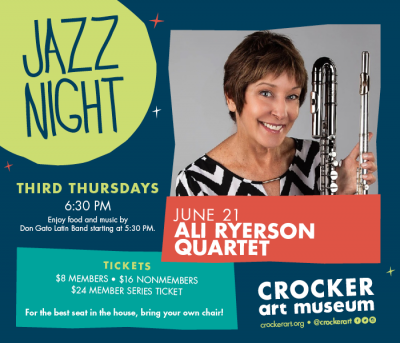 Jazz Night at the Crocker Series