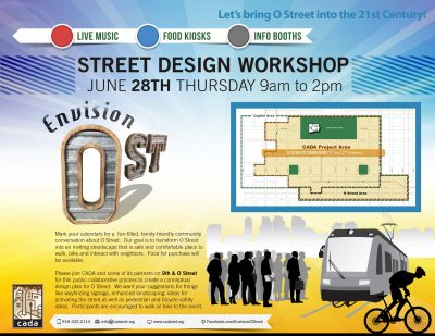 Envision O Street: Street Design Workshop