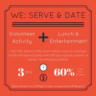 WE: Serve and Date