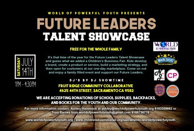 Future Leaders Talent Showcase and Children's Business Fair