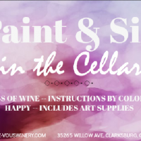 Paint and Sip in the Cellar