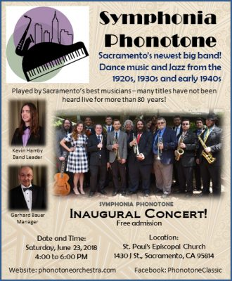 Symphonia Phonotone Dance Orchestra Inaugural Concert