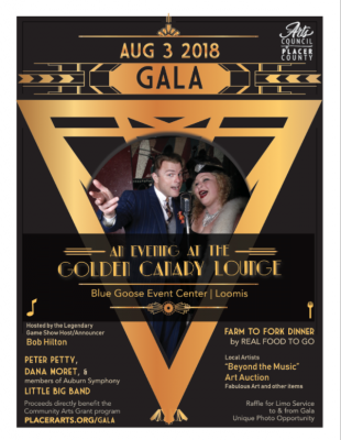 A Night at the Golden Canary Lounge Gala and Silent Auction
