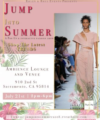 Jump Into Summer: A Pop-Up Soirée