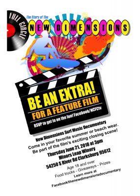 Be an Extra in a Feature Film