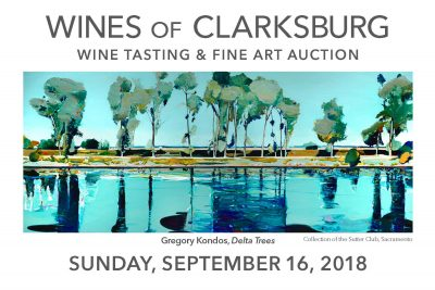 Wines of Clarksburg and Art Auction