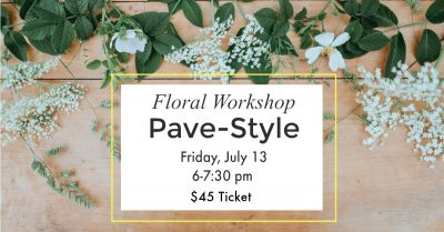 Swig and Dig: Floral Workshop
