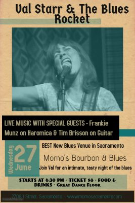 Bourbon and Blues Night: Val Starr