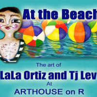 At the Beach: The Artworks of Tj Lev and LaLa Ortiz