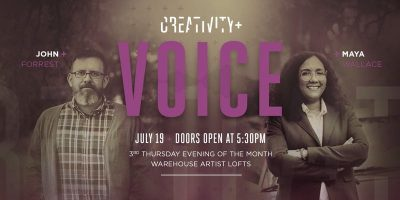 Creativity+ Voice: Maya Wallace and John Forrest (Sold Out)