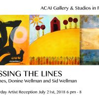 Crossing Lines Art Exhibit