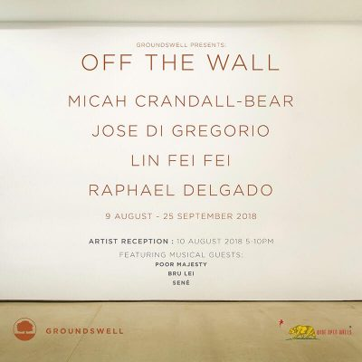 Off the Wall: Groundswell Gallery Artist Reception (Wide Open Walls)