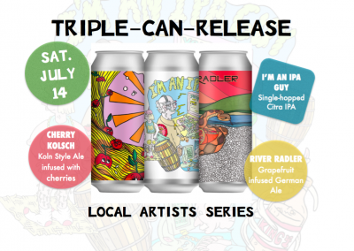 Triple Can Release Party