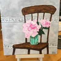 Paint and Sip: Peonies