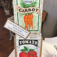 Paint and Sip: Seed Packets