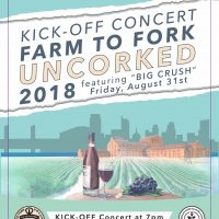 Kick Off to Farm-to-Fork Uncorked 2018