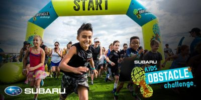 Subaru Kids Obstacle Challenge