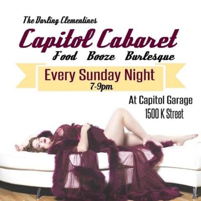 Capitol Cabaret presented by The Darling Clementines