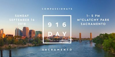 Compassionate Sacramento Launch and 916 Day