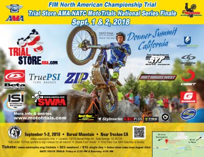 Motorcycle Trials National Event