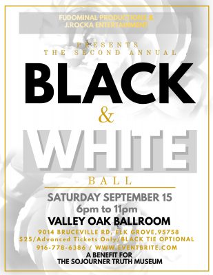 The Black and White Ball: A Benefit for the Sojourner Truth Museum