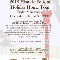 Historic Folsom Holiday Home Tour