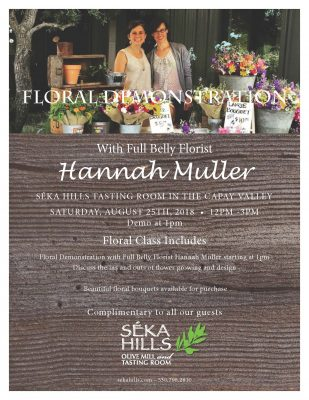 Full Belly Farms Floral Demonstration