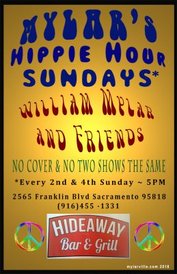 Mylar's Hippie Hour Sundays