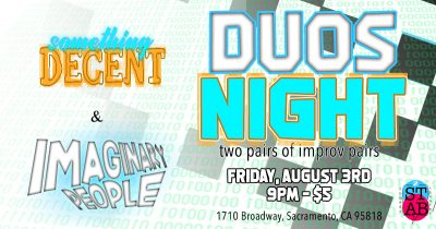 Duos Night: Two Person Improv