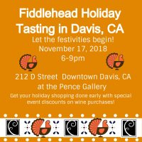 Fiddlehead Cellars Holiday Tasting