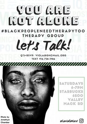Black People Need Therapy Too Meet-Up